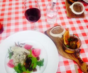 dinner, food, and vegan image