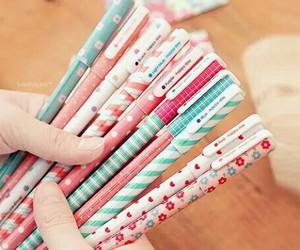 pen, pencil, and school image