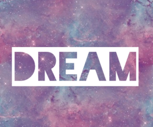 Dream, galaxy, and girls image