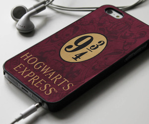 harry potter, hogwarts express, and iphone 4 case image