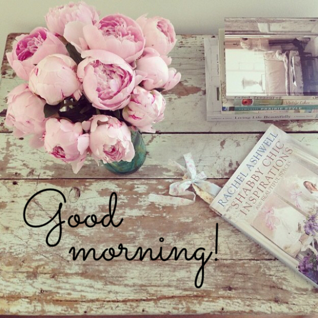 Good morning! discovered by Audrey on We Heart It