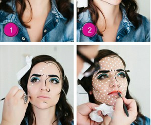 diy, face, and pop art image
