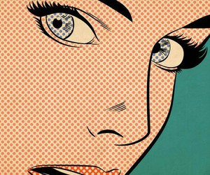 pop art, art, and eyes image