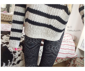 fashion, food, and leggings image