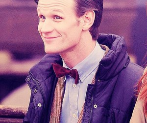 doctor who, matt smith, and smile image
