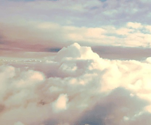 clouds, sky, and gif image