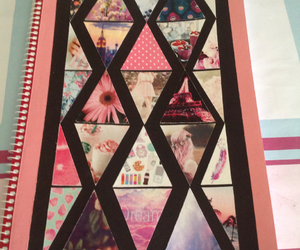 diy, handmade, and notebook image