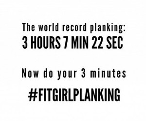 plank, fit, and fitness image