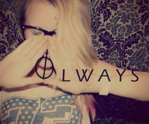 harry potter, always, and girl image