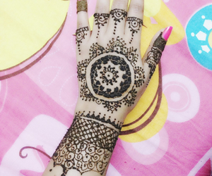 indian, traditional, and mehandi image
