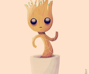 art, groot, and cute image