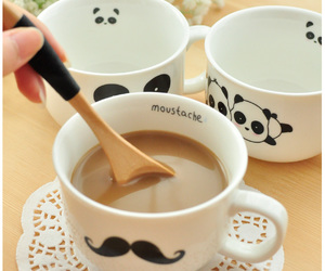 coffe, cup, and sweet image