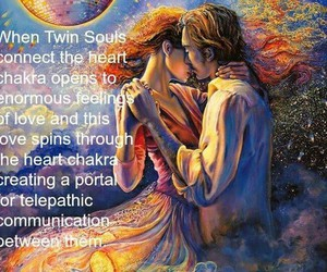 portal, twin souls, and telepathic image