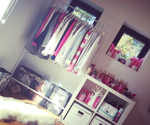 bedroom, clothes, and Victoria's Secret image