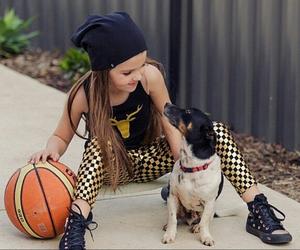 animal, baby, and Basketball image
