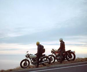 cafe racer, motorcycles, and dreams image