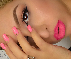 face, lips, and nails image