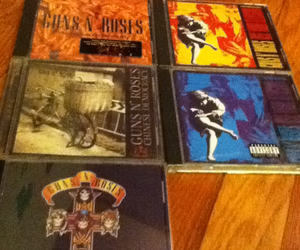cds, Guns N Roses, and music image