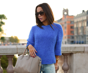 beauty, blogger, and blue image