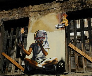 Athens, graffiti, and street art image