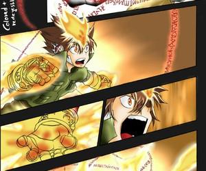 anime, fight, and katekyo hitman reborn image