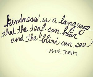 quote, kindness, and blind image