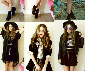 chic, clothes, and grunge image