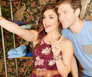 lucy hale, pretty little liars, and toby cavanaugh image