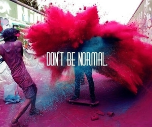 boring, colorful, and inspire image