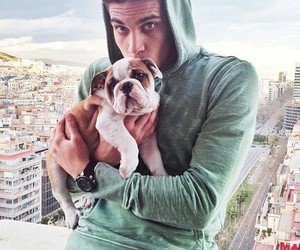 dog, cute, and marc bartra image