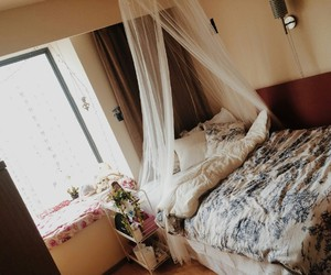 bed, Dream, and home image