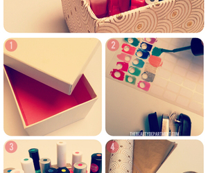 diy, nails, and box image