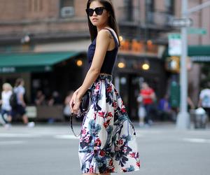 blogger, fashion week, and fake leather image