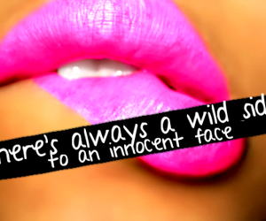 lips, wild, and pink image