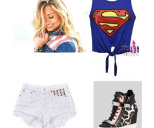 clothes, girlythings, and demi lovato image