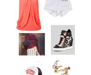 clothes, short, and jewerly image