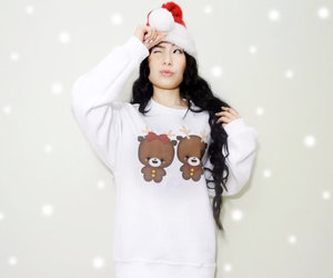 adorable, ugly sweater, and christmas sweater image