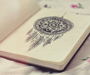 Dream, drawing, and book image