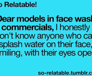 funny, models, and so true image