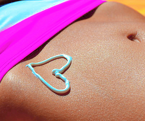 beautiful, pink, and tanning image