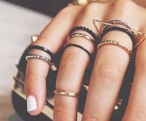 accessories, rings, and love image