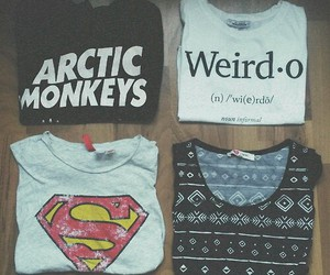arctic monkeys, superwoman, and weirdo image