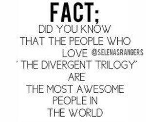 fact and divergent image