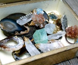 crystal, jewelry, and rock image