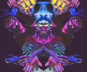 art, Collage, and reflektor image