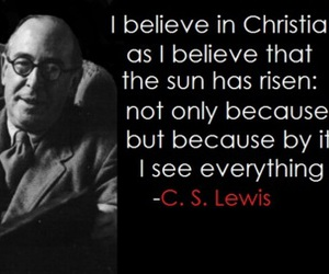 c.s. lewis, Christianity, and quote image