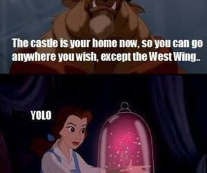 funny, yolo, and disney image