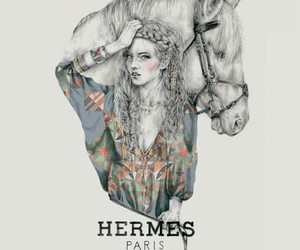 hermes and horse image
