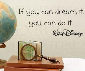 Dream, disney, and quote image