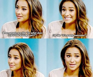 quote, pretty little liars, and shay mitchell image